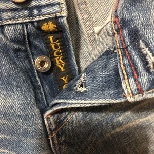 Super low rise Lucky Brand jeans (no stretch)